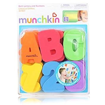 Paleo 36pcs niños bebé niños cartas números juguetes de baño ...