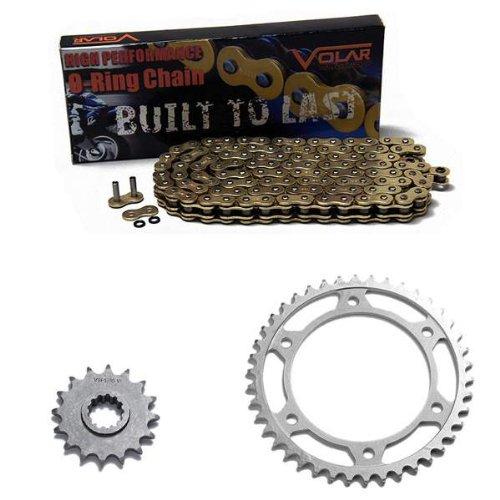 2001-2006 Honda CBR600F4i O-Ring Chain and Sprocket Kit Gold