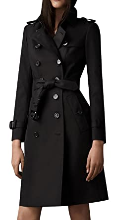 Amazon.com: EORISH Women's British Style Elegant Jacket Double ...