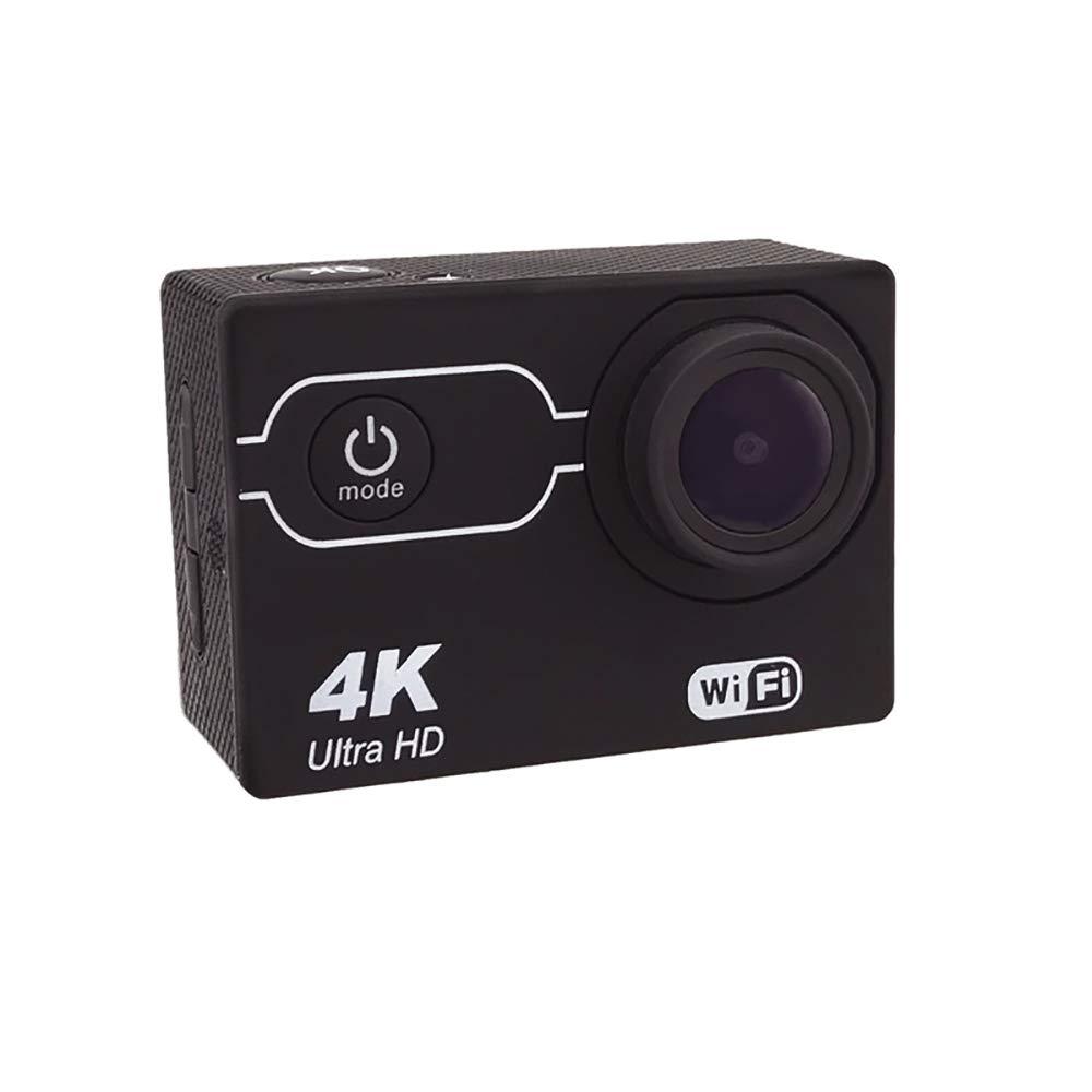TBY Unterwasserkamera, WiFi Action Kamera 4K 30Fps 16MP Sport Kamera 2.0 Zoll Displayscreen 30M Wasserdicht Für Tauchen Fahrrad Klettern Schwimmen Etc