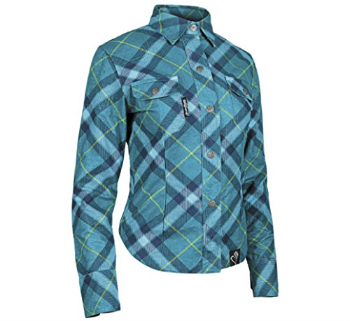Speed and Strength Cross My Heart Reinforced Moto Shirt, Gender: Womens, Distinct Name: Teal, Primary Color: Green, Size: 2XL