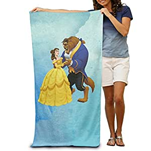 KathyB Beauty And The Beast Stylish Bath Towels For Adult