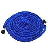 Garden Hose,KLAREN 50FT Expandable Lawn Garden Hose with Strongest Triple Core Latex Latest Improved Extra Strength Fabric Protection Lightweight Suitable For Home Car Wash Use(Blue) 2017