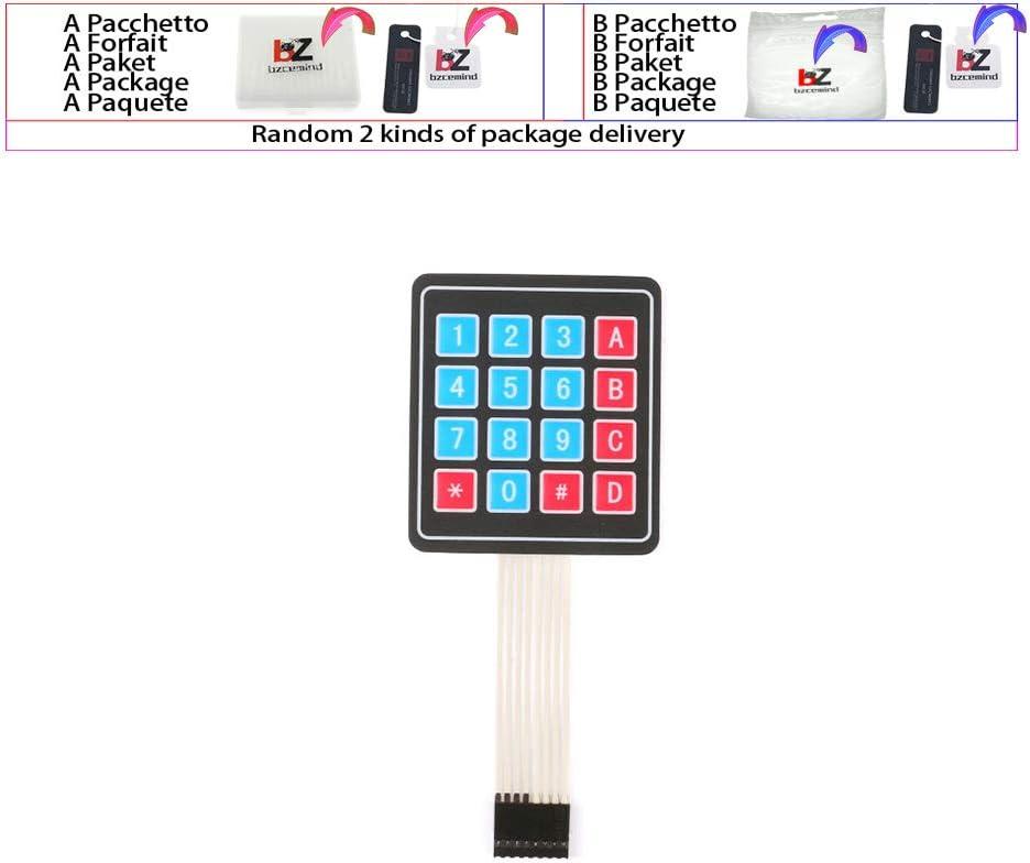 2pcs 2 3 4x4 3*4 4*5 Key Button Membrane Switch Matrix Array Keyboard Keypad