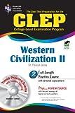 CLEP® Western Civilization II w/CD (CLEP Test Preparation)