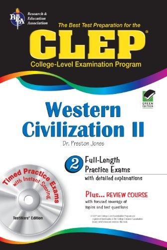 CLEP Western Civilization II w/CD (CLEP Test Preparation)