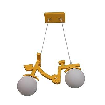 Nwlamp Luminaire Lampe Suspendue En Bois Créative Améliorée D