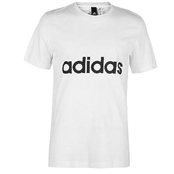 dc714185 adidas Men's ESS Linear T-Shirt: Amazon.co.uk: Sports & Outdoors