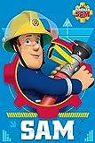 Jerry Fabrics Feuerwehrmann Sam Kinder Fleecedecke