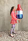 Popsicle Balloon, 38', Foil, Popsicle, Birthday, 4th of July Party, Rocket Pop, Party, Popsicle Birthday Party, Ice Cream Party, Ice Cream