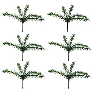 "Lily Garden 12"" Artificial Rosemary Soft Plastic- Package of 6 40"