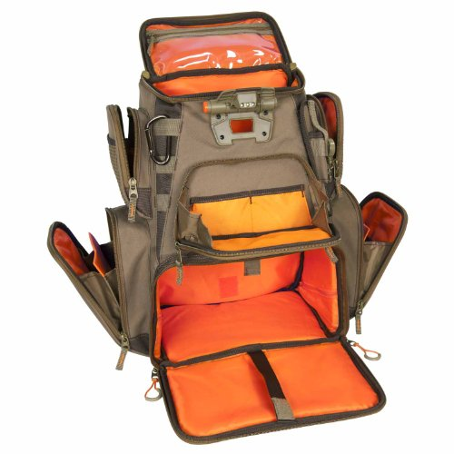 Wild River Backpack Tackle Bags. Custom Leathercraft Wild River by CLC WN3604 Tackle Tek Nomad Lighted Backpack