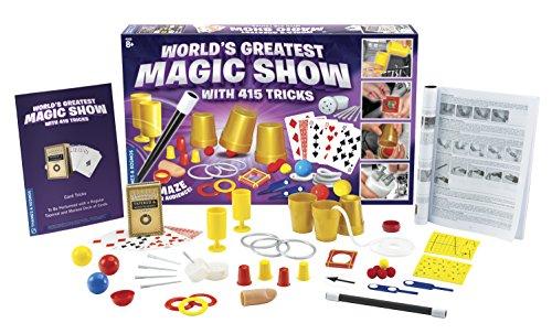Thames & Kosmos World's Greatest Magic Show with 415 Tricks Magic Set by Thames & Kosmos (Image #1)