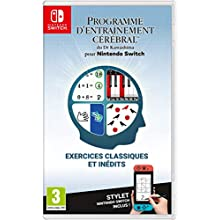 Programme d'Entraînement cérébral du Dr Kawashima - Nintendo Switch [Importación francesa]
