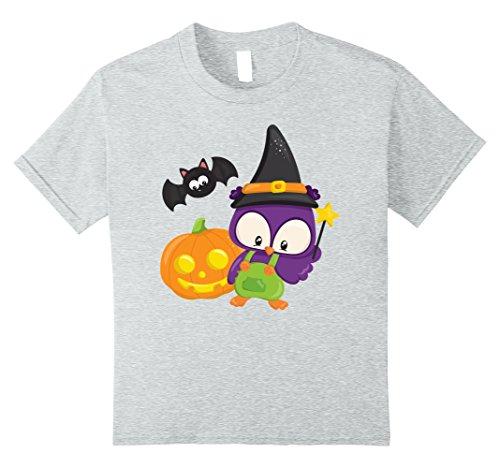 Kids Cute Funny & Easy Last Minute Halloween Costume T-Shirt 10 Heather Grey