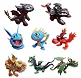How To Train Your Dragon Playset 8 pcs Action