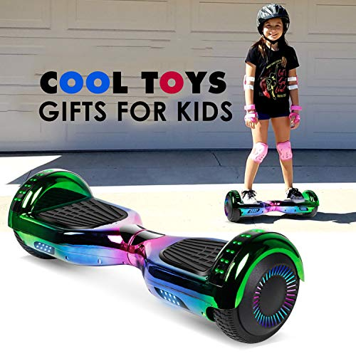 jolege Hoverboard with Bluetooth 6.5 inch Self Balancing Hoverboards for Kids with LED Flahing Lights-UL2272 Certified by jolege (Image #6)