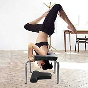 WV WONDER VIEW WonderView Yoga Inversion Chair, Yoga Inversion Bench Idea for Workout, Fitness and Gym