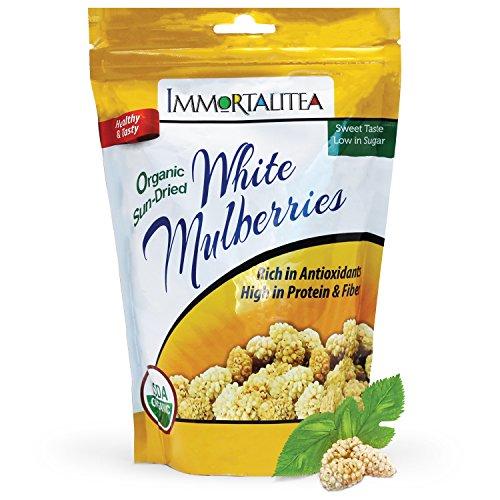 Sun Dried White Mulberries Healthy Organic