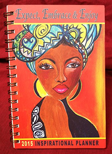Shades of Color 5.38 by 8.38 Inches 2015 Weekly Inspirational Planner (IP02)