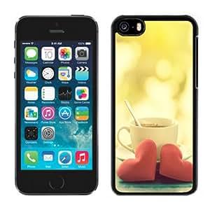 Beautiful Custom Designed iPhone 5C Phone Case For Warm Love Coffee 640x1136 Phone Case Cover