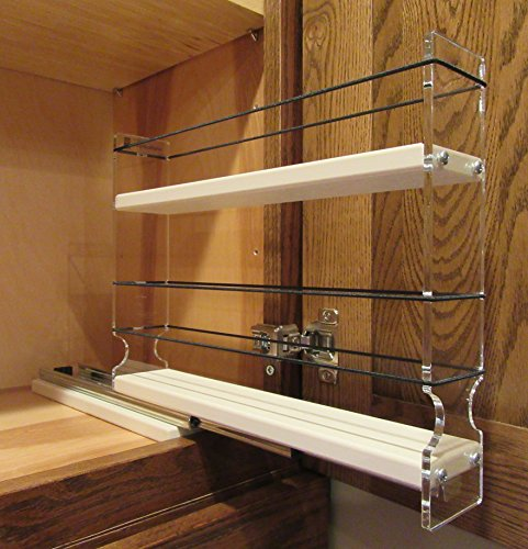 Vertical Spice 2x1 5x10 Dc Spice Rack W 1 Drawer With