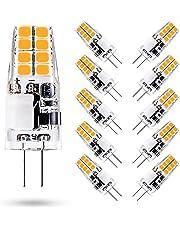 ONSTUY G4 Ledlampen 12V,3W G4 LED Lampen Vervangt 35W Halogeenlampen,300 Lumen,Niet Dimbaar,Geen Flikkeringen,Pak van 10