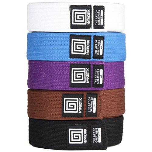 Hypnotik Pearl Weave Premium BJJ Belt - Purple - A4 (Belt Bjj Purple)