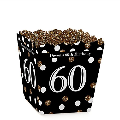 Personalized Adult 60th Birthday - Gold - Custom