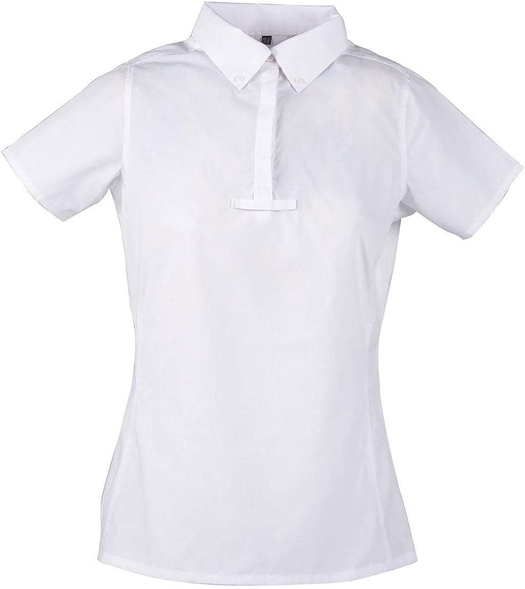 Dublin - Camisa de competición hípica Modelo Penwood con Manga ...