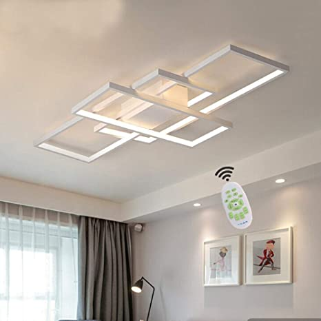 LED Ceiling Light Living Room Light Dimmable Office Light ...