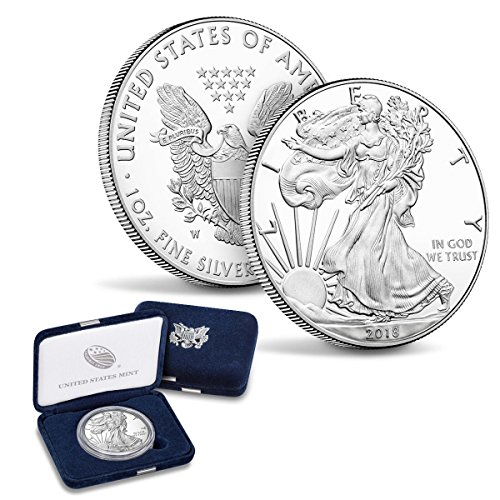 (2018 W American Silver Eagle $1 Proof US Mint )