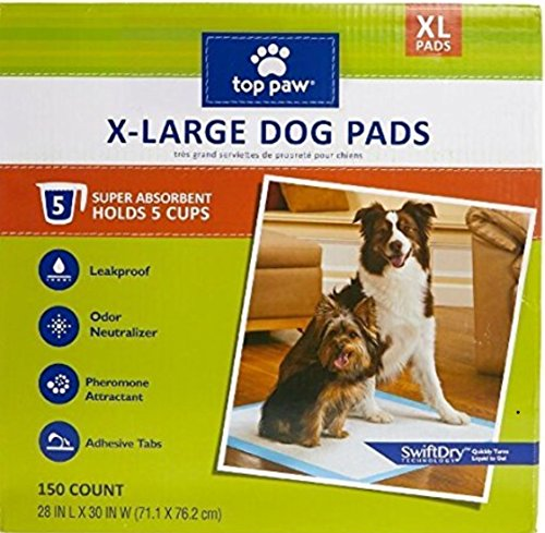 Best Dog For Apartment: Top Paw Dog Extra Large Pads For Puppy Training, Indoor