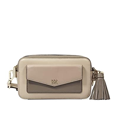 e2c7d4f3b1a31c MICHAEL Michael Kors Pocket Tricolor Camera Bag (Oat/Truffle ...
