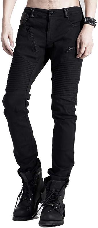 Punk Rave - Pantalones Largos de algodón para Hombre, diseño ...
