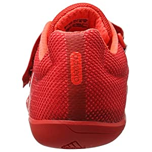 adidas Originals Adizero Discus/Hammer Track Shoe, Red/White/Infrared, 11 M US