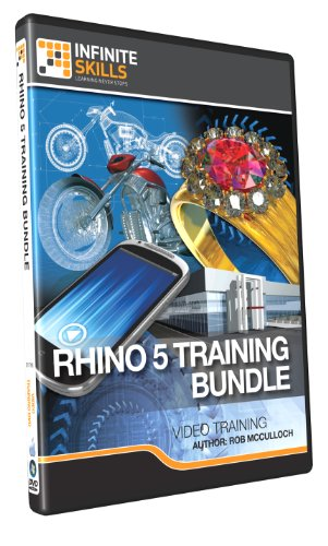 Discounted Bundle - Rhino 5 Tutorial DVD - Over 26 hours of Training by Infiniteskills