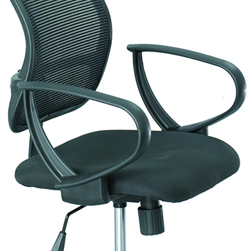 Loop Arm Task Chair (Safco Products 3396BL Loop Arms Set for use with Vue Mesh Extended Height Chair 3395, sold separately, Black)