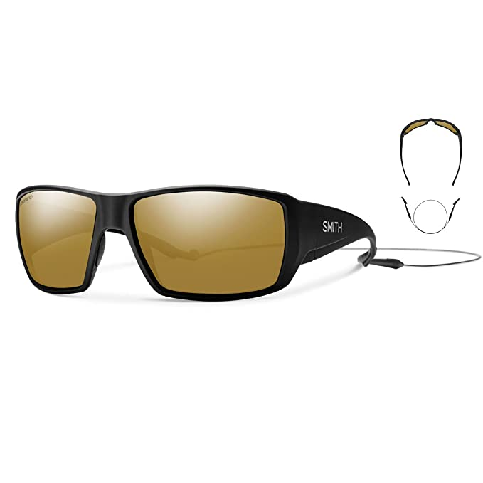 Amazon.com: Smith anteojos de sol Premium Correa: Sports ...