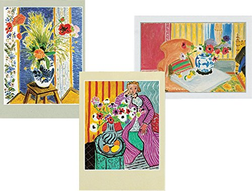 Entertaining with Caspari Henri Matisse Blank Notecards, Set of 8