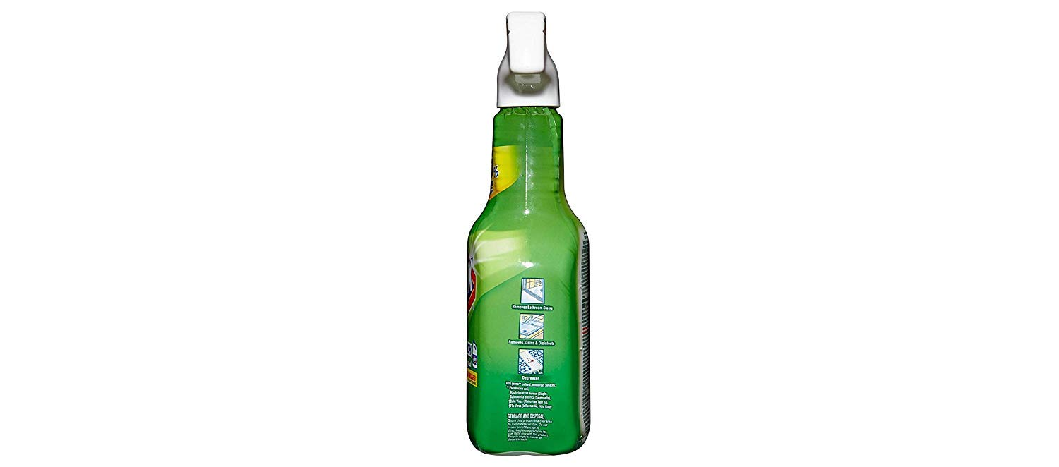 Clean-Up with Bleach, 32 fl oz Trigger Spray Bottle (Pack of 4) by Clorox (Image #5)