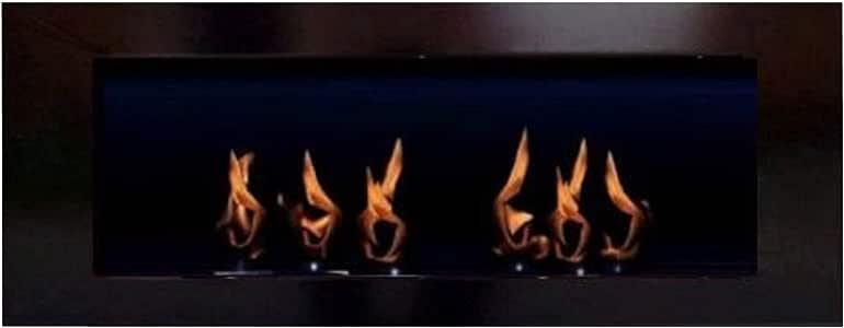 Amazon.com: BIO ETHANOL FIRE PLACE MODEL TORNADO (Black ...