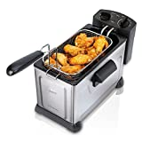 Cheap Oster CKSTDFZM37-SS1 Professional Style Deep Fryer, Stainless Steel