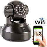 Coolcam HD 720P Wireless WiFi IP Camera Smartphone CCTV Security Surveillance 2way Audio with Night Vision and Motion Detect Free P2P Cloud Connection Service with QR Code