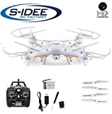Syma X5C 2.4G 6 Axis GYRO 2.0MP HD Camera RC Quadcopter RTF 3D RC Helicopter