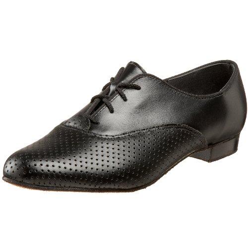 Tic-Tac-Toes Men's Statler Ballerina Shoe,Black,13 M US by Tic-Tac-Toes