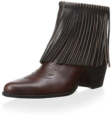 Bootie Bettye Fringe Women's Chocolate Muller wOOYft