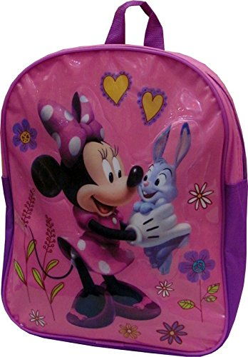 DISNEY MINNIE MOUSE JUNIOR BACKPACK - PINK   B0084OHO58
