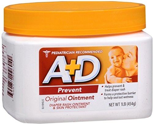 (A+D Ointment Original 16 oz (Pack of 3))