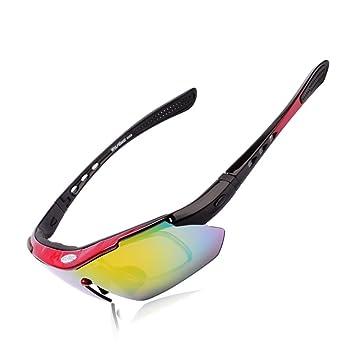 DAYANGE Wolfbike - Gafas de Sol polarizadas para Hombre MTB Road Montaña Ciclismo Bicicleta Uv400 Deportes